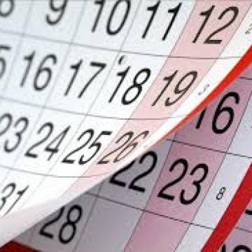 Felhívjuk figyelmüket az alábbi határidőkre: