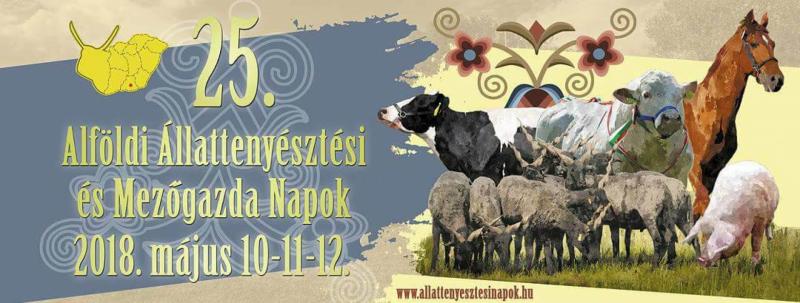 XXV. Alföldi Állattenyésztési és Mezőgazda Napok