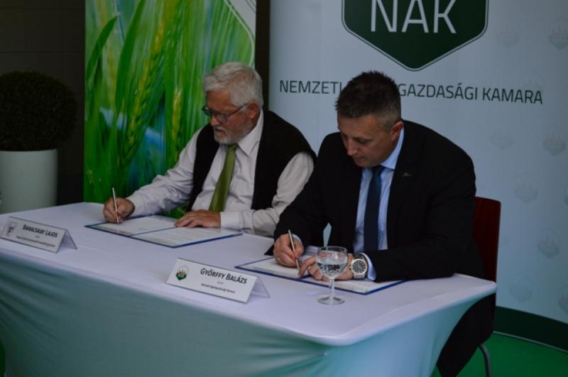 Együttműködési megállapodás született az agrárexpón